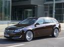 Фото авто Opel Insignia A [рестайлинг], ракурс: 45 цвет: коричневый