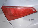 Фото авто Audi Q5 8R, ракурс: задние фонари цвет: серебряный