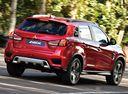 Фото авто Mitsubishi ASX 1 поколение [3-й рестайлинг], ракурс: 225 цвет: красный