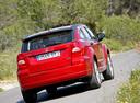 Фото авто Dodge Caliber 1 поколение, ракурс: 180 цвет: красный