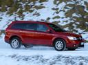 Фото авто Fiat Freemont 345, ракурс: 270 цвет: красный