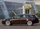 Фото авто Opel Insignia A [рестайлинг], ракурс: 90 цвет: коричневый
