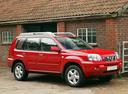 Фото авто Nissan X-Trail T30 [рестайлинг], ракурс: 315 цвет: красный