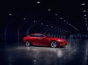 Фото авто Tesla Model S 1 поколение [рестайлинг], ракурс: 270 цвет: красный