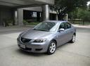 Фото авто Mazda 3 BK, ракурс: 45 цвет: серый