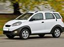 Фото авто Chery IndiS 1 поколение, ракурс: 90 цвет: белый