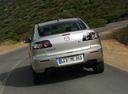Фото авто Mazda 3 BK [рестайлинг], ракурс: 180 цвет: серебряный
