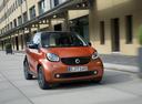 Фото авто Smart Fortwo 3 поколение, ракурс: 315 цвет: оранжевый