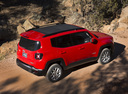Фото авто Jeep Renegade 1 поколение, ракурс: 225 цвет: красный
