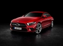 Фото авто Mercedes-Benz CLS-Класс C257, ракурс: 45 цвет: красный