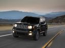 Фото авто Jeep Renegade 1 поколение, ракурс: 45 цвет: черный