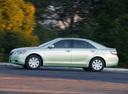 Фото авто Toyota Camry XV40, ракурс: 90 цвет: салатовый