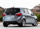 Фото авто Opel Meriva 2 поколение [рестайлинг], ракурс: 225 цвет: серебряный