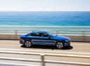 Фото авто Audi A4 B9, ракурс: 270 цвет: голубой