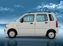 Фото авто Maruti Wagon R 1 поколение, ракурс: 90