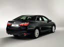 Новый Toyota Camry, черный металлик, 2016 года выпуска, цена 1 621 000 руб. в автосалоне
