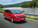 Фото авто Opel Zafira C [рестайлинг], ракурс: 315 цвет: красный
