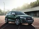 Фото авто Audi SQ5 2 поколение, ракурс: 315 цвет: зеленый