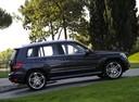 Фото авто Mercedes-Benz GLK-Класс X204, ракурс: 270 цвет: мокрый асфальт