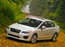 Фото авто Subaru Impreza 4 поколение, ракурс: 45 цвет: белый