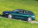 Фото авто Alpina B3 F30/F31, ракурс: 90 цвет: зеленый