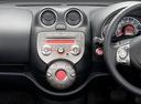Фото авто Nissan March K13, ракурс: центральная консоль