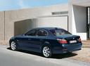 Фото авто BMW 5 серия E60/E61, ракурс: 135 цвет: синий