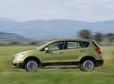 Фото авто Suzuki SX4 2 поколение, ракурс: 90 цвет: салатовый