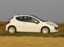 Фото авто Peugeot 207 1 поколение, ракурс: 270 цвет: белый