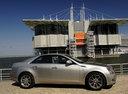 Фото авто Cadillac CTS 2 поколение, ракурс: 270 цвет: серебряный