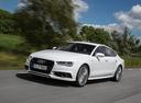 Фото авто Audi A7 4G [рестайлинг], ракурс: 45 цвет: белый
