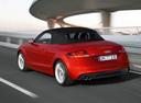 Фото авто Audi TT 8J [рестайлинг], ракурс: 135 цвет: красный