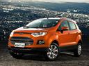 Фото авто Ford EcoSport 2 поколение, ракурс: 45 цвет: оранжевый