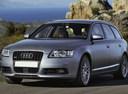 Фото авто Audi A6 4F/C6, ракурс: 45 цвет: серебряный
