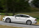 Фото авто Audi A7 4G [рестайлинг], ракурс: 90 цвет: белый