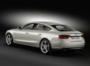 Фото авто Audi A5 8T [рестайлинг], ракурс: 135 цвет: бежевый