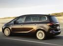Фото авто Opel Zafira C, ракурс: 90 цвет: коричневый