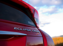 Фото авто Mitsubishi Eclipse Cross 1 поколение, ракурс: шильдик цвет: бордовый