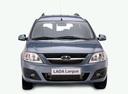 Фото авто ВАЗ (Lada) Largus 1 поколение, ракурс: 0 - рендер цвет: синий