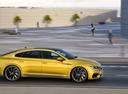 Фото авто Volkswagen Arteon 1 поколение, ракурс: 270 цвет: желтый