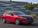 Фото авто Mazda 3 BM [рестайлинг], ракурс: 315 цвет: красный