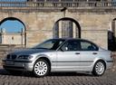 Фото авто BMW 3 серия E46 [рестайлинг], ракурс: 45 цвет: серебряный