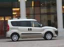 Фото авто Fiat Doblo 2 поколение, ракурс: 270 цвет: бежевый