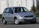 Фото авто ВАЗ (Lada) Kalina 1 поколение, ракурс: 315 цвет: серебряный