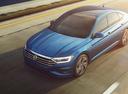 Фото авто Volkswagen Jetta 7 поколение, ракурс: сверху цвет: синий