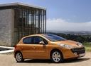 Фото авто Peugeot 207 1 поколение, ракурс: 270 цвет: бронзовый