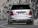 Фото авто Mercedes-Benz M-Класс W164 [рестайлинг], ракурс: 180 цвет: серебряный