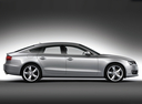 Фото авто Audi A5 8T, ракурс: 270 цвет: серебряный