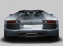 Фото авто Lamborghini Aventador 1 поколение, ракурс: 180 цвет: серый