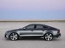 Фото авто Audi RS 7 4G, ракурс: 90 цвет: серый